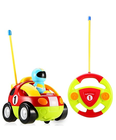 7. Holy Stone RC Cartoon Race Car