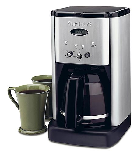 2. Cuisinart Brew Central DCC-1200 Coffeemaker, Black/Silver