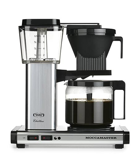 12. Moccamaster KBG 741 Coffee Brewer