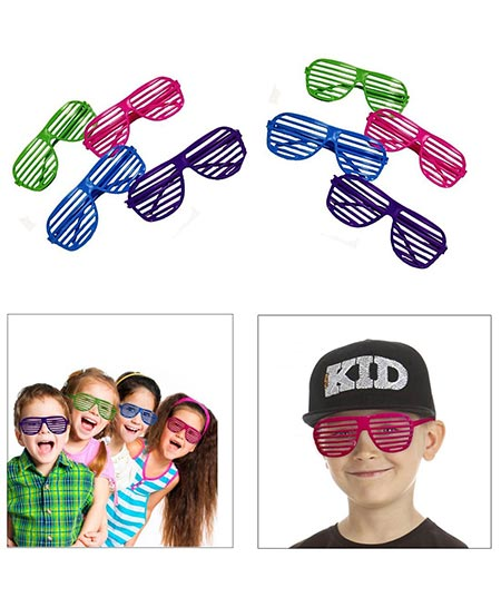 12. Dazzling Toy Sunglasses Party Favors Costume.