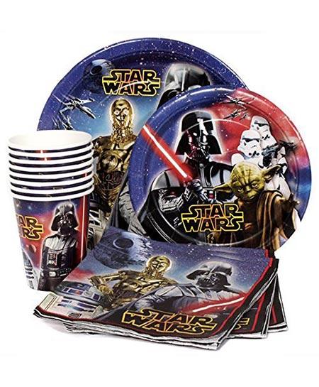8. Star Wars Birthday Party Supplies