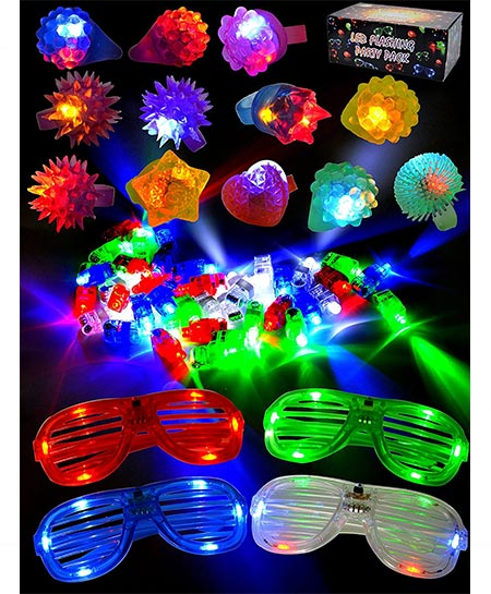 2. Joyin Toy Finger Lights