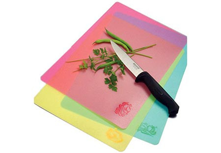 8. Norpro Cut N' Slice Flexible Cutting Boards