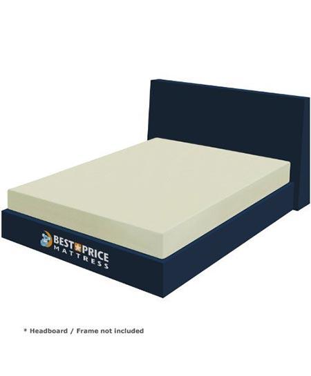 12. Best Price Mattress 6-Inch Memory Foam Mattress