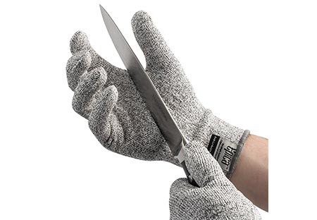 3. Cut Resistant Gloves with CE Level 5 Protection