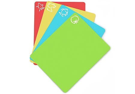 7. Extra Thick Flexible Plastic Cutting Mats