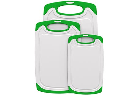 6. Spring Kitchen Dishwasher Safe Cutting Board Set