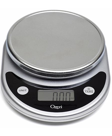 1.Ozeri Pronto Digital Multifunction Kitchen and Food Scale