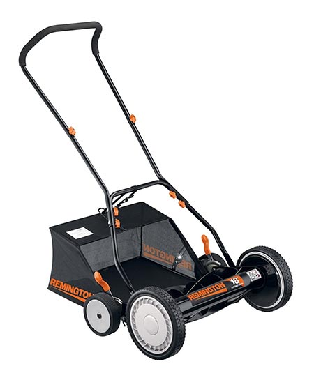 6. Remington Real Push Mower
