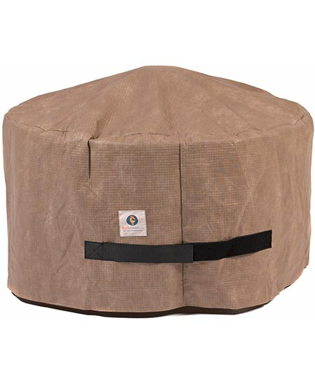 3. Duck Covers Elite Round Fire Pit Cover