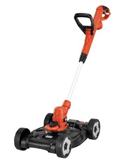 3. Black + DECKER Electric Trimmer/Edger and Mower