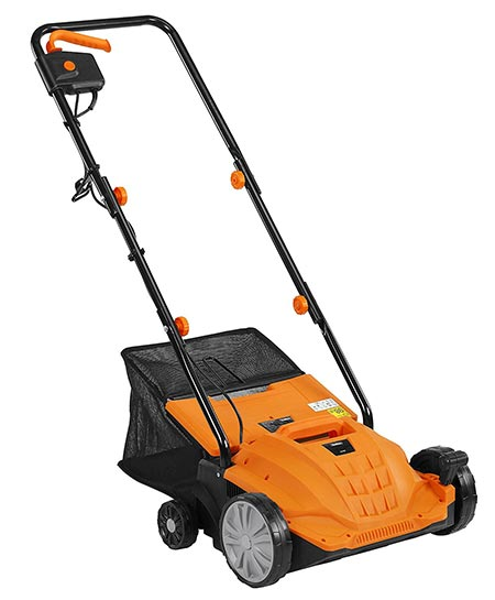 8. Lawn Dethatcher & Aerator – Electric Lawn Mower