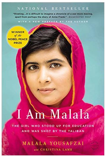 3. I am Malala: The girl who stood up for education and was shot by Taliban – Malala Yousafzai and Christina Lamb