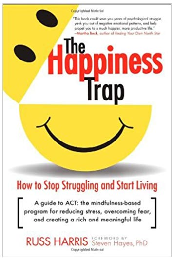 5. The happiness trap pocket book – Russ Harris