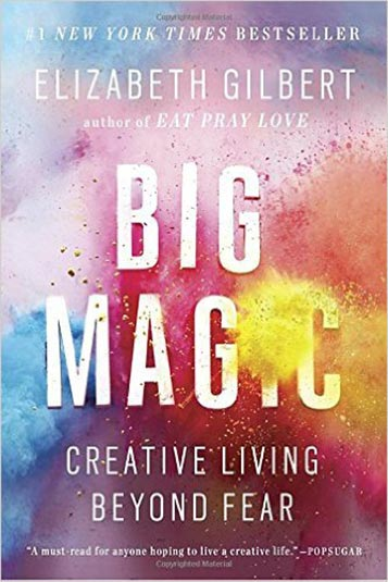 7. The Big Magic – Elizabeth Gilbert