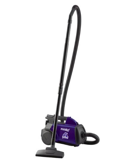 10. Eureka Mighty Mite Canister Vacuum with Pet Attachments