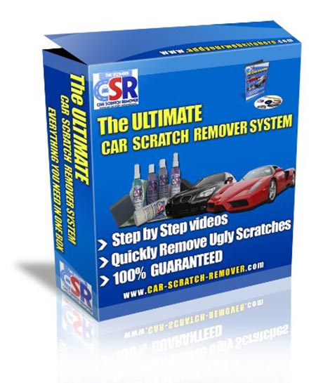 10. The Ultimate Car Scratch Remover System