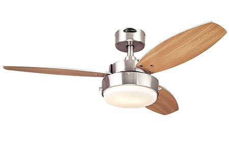 8. Westinghouse 7247300 ceiling fan: