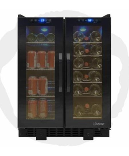 6. Vinotemp VT-36TS built-in wine cooler