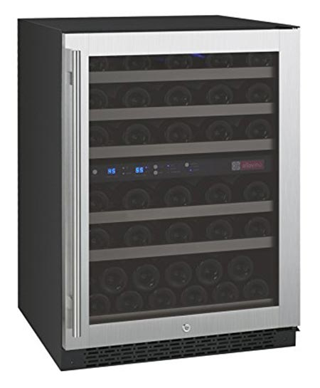 4. Allavino FlexCount VSWR56-2SSRN wine cooler