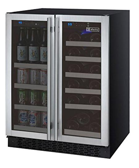 5. Allavino VSWB-2SSFN built-in wine cooler
