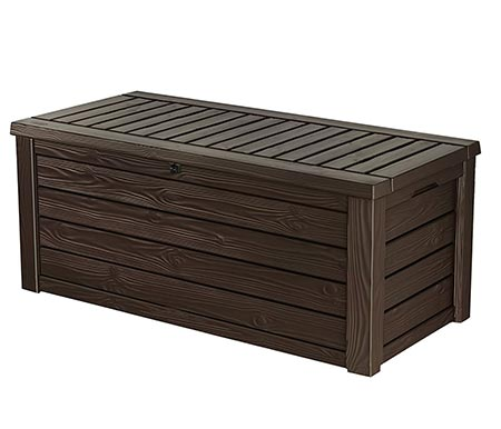 keter westwood outdoor deck storage box