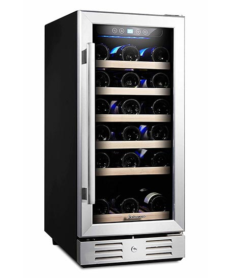1. Kalamera 15'' Built-in wine cooler
