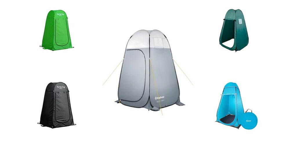 Best Portable Outdoor Pop-Up Privacy Tent for Shower and Changing Room