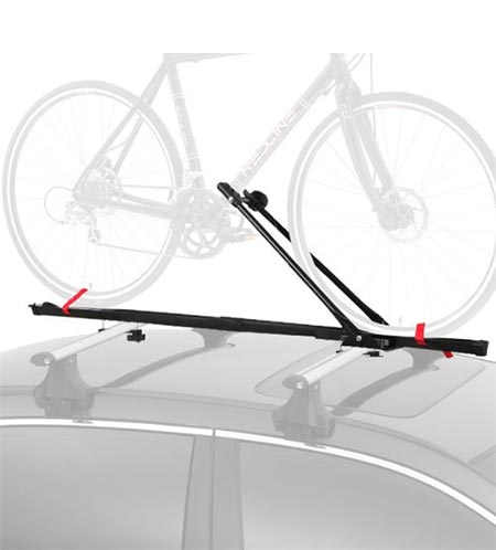 7. Cyclingdeal 1 Bike Car Roof Carrier Rack Bicycle Racks With Lock