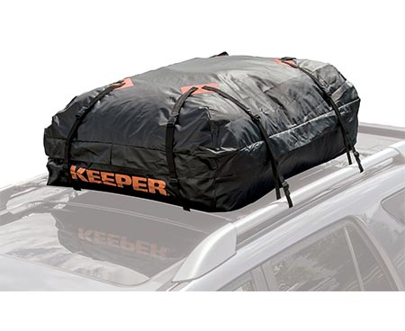 1 Keeper 07203-1 Waterproof Roof Top Cargo Bag (15 Cubic Feet)