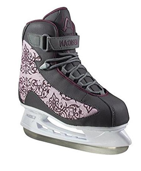 6 American Athletic Shoe Women's Soft Boot Hockey Skates
