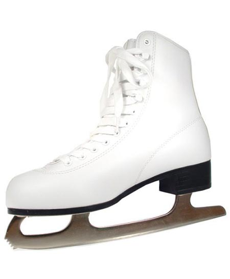 4 American Athletic Shoe Women's Tricot Lined Ice Skates