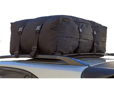 5 OxGord IN Roof Top Cargo Rack Waterproof Carrier Bag for Vehicles, 10 cubic feet