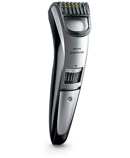 9 Philips Norelco Beard trimmer Series 3500, 20 built-in length settings, QT4018/49