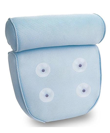 9 Kleeger Hot Tub Bath Pillow: Home Spa Jacuzzi Neck & Back Support