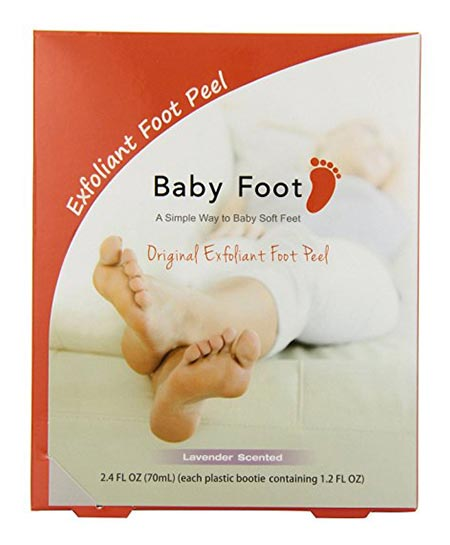 2 Baby Foot Exfoliant Foot Peel