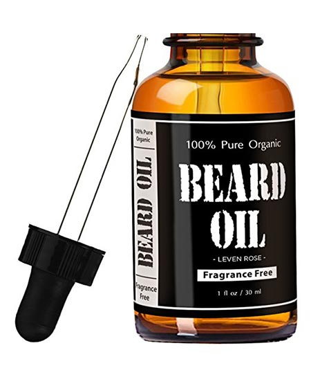 5 Beard Oil & Leave in Conditioner - Fragrance-Free by Leven Rose