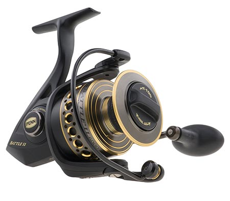 1 Penn Battle II Spinning Fishing Reel
