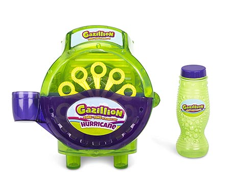 1 Gazillion Bubbles Hurricane Machine, Colors May Vary