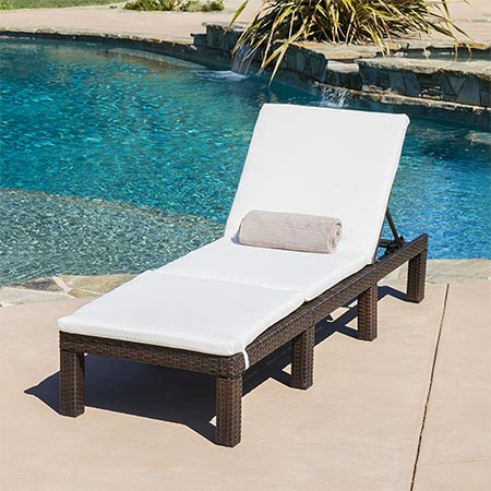8. Estrella Outdoor Adjustable Chaise Lounge