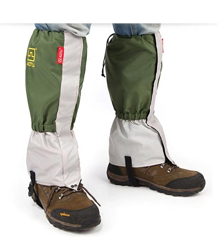 9 MAIYU Outdoor Waterproof Windproof Gaiters Leg Protection Guard Skiing Hiking Climbing