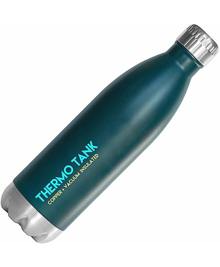 5 Thermo Tank Insulated Stainless Steel Water Bottle - Ice Cold 36 Hours!
