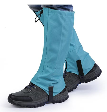 1 OUTAD Waterproof Outdoor Hiking Walking Climbing Hunting Snow Legging Gaiters (1 Pair)