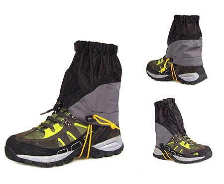 6 AMYIPO Unisex Ultra-Light Trail Snow Leg Gaiter