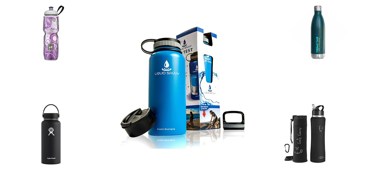 best vacuum insulated water bottles reviews in 2018. Black Bedroom Furniture Sets. Home Design Ideas