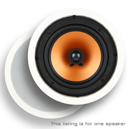 2 Micca M-8C 8 Inch 2-Way In-Ceiling In-Wall Speaker