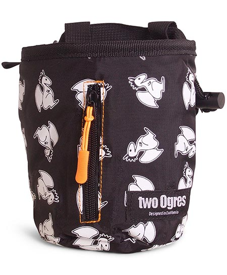 5 two Ogres Basique v2 Climbing Chalk Bag with Belt
