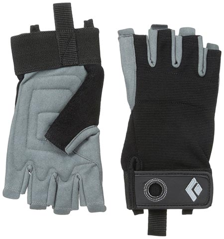 1 Black Diamond Crag Half-Finger Climbing Gloves