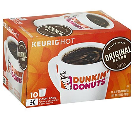 9 Dunkin' Donuts Coffee for K-cup Pods