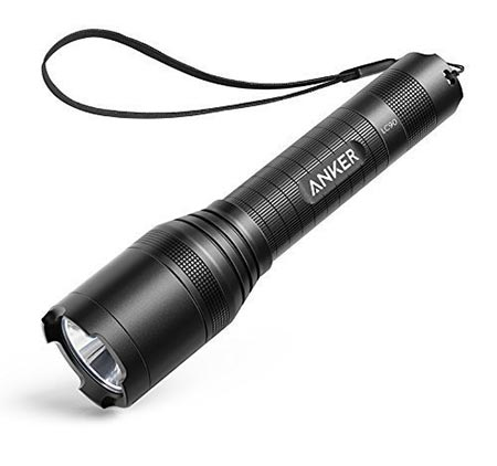 5 Anker Super Bright Tactical Flashlight